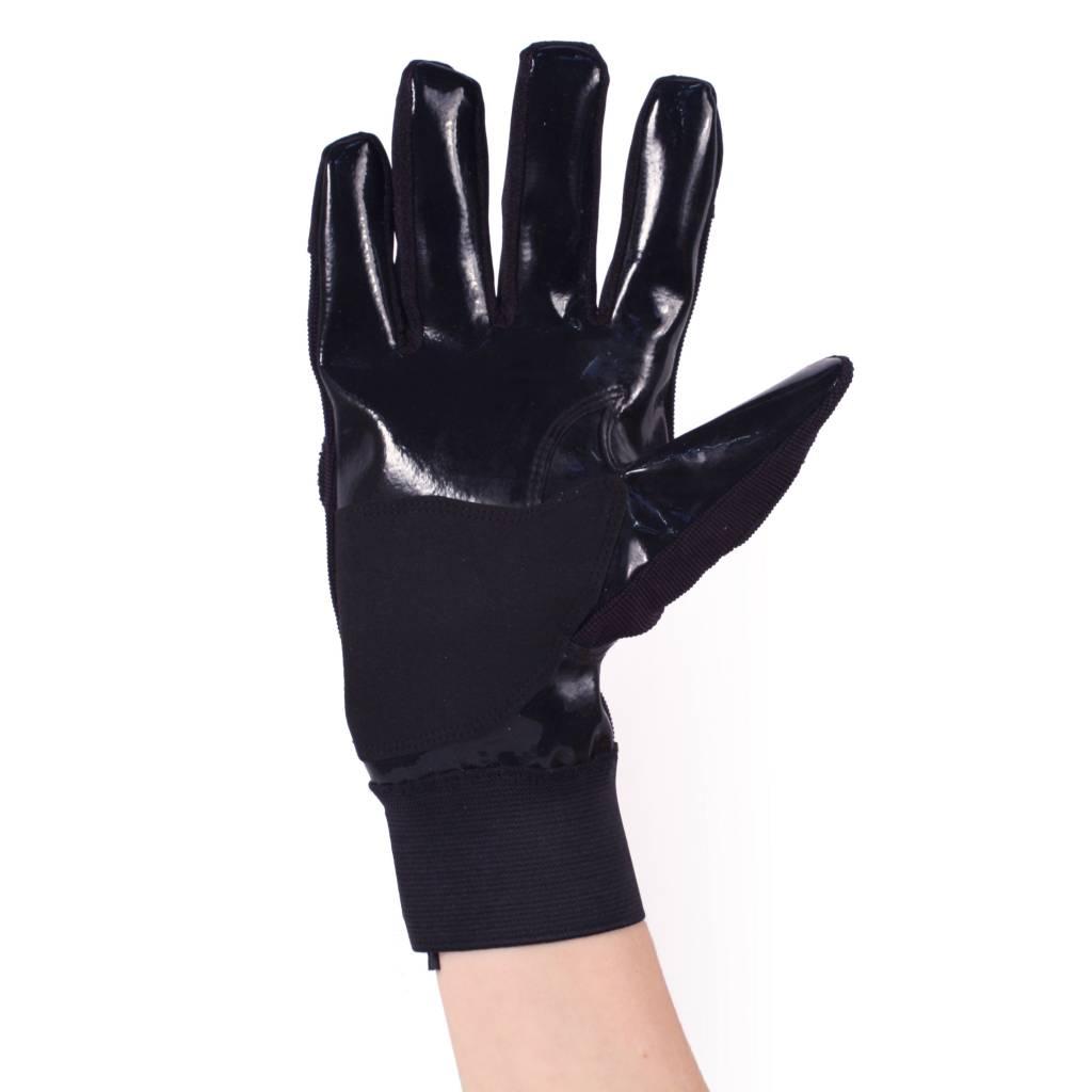 barnett FKG-01 Перчатки для лайнбекера, американский футбол, LB,RB,TE, чёрные