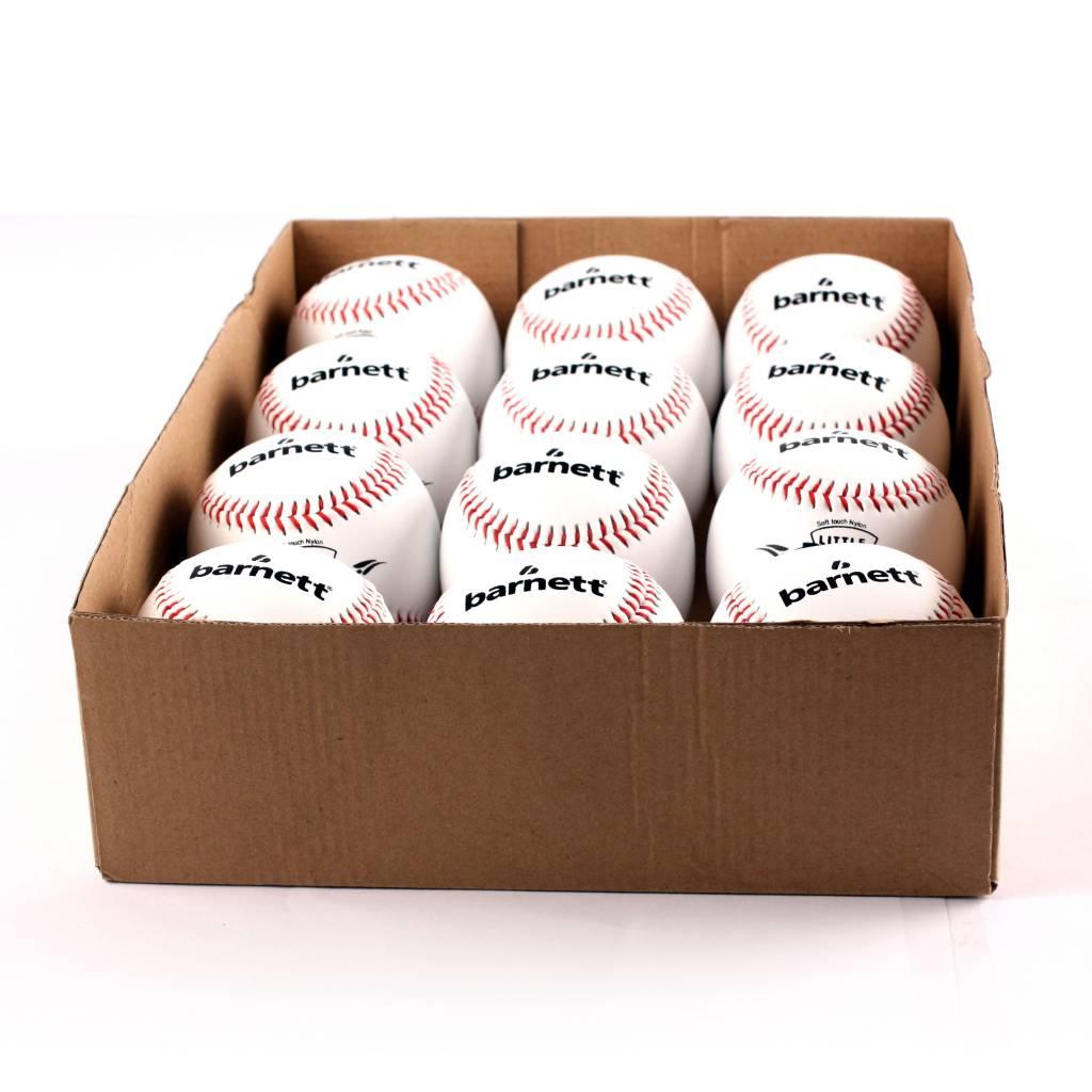 """OL-1 Бейсбольный мяч для соревнований, размер 9"""", цвет белый, 12 шт."""