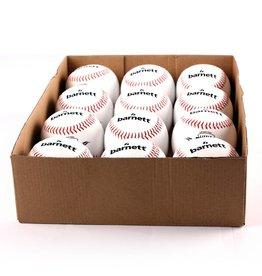 """LL-1 Бейсбольный мяч класса для соревнований и тренировки, размер 9"""", цвет белый, 12 шт."""