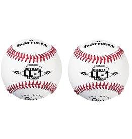 """LL-1 Бейсбольный мяч класса для соревнований и тренировки, размер 9"""", цвет белый, 2 шт."""