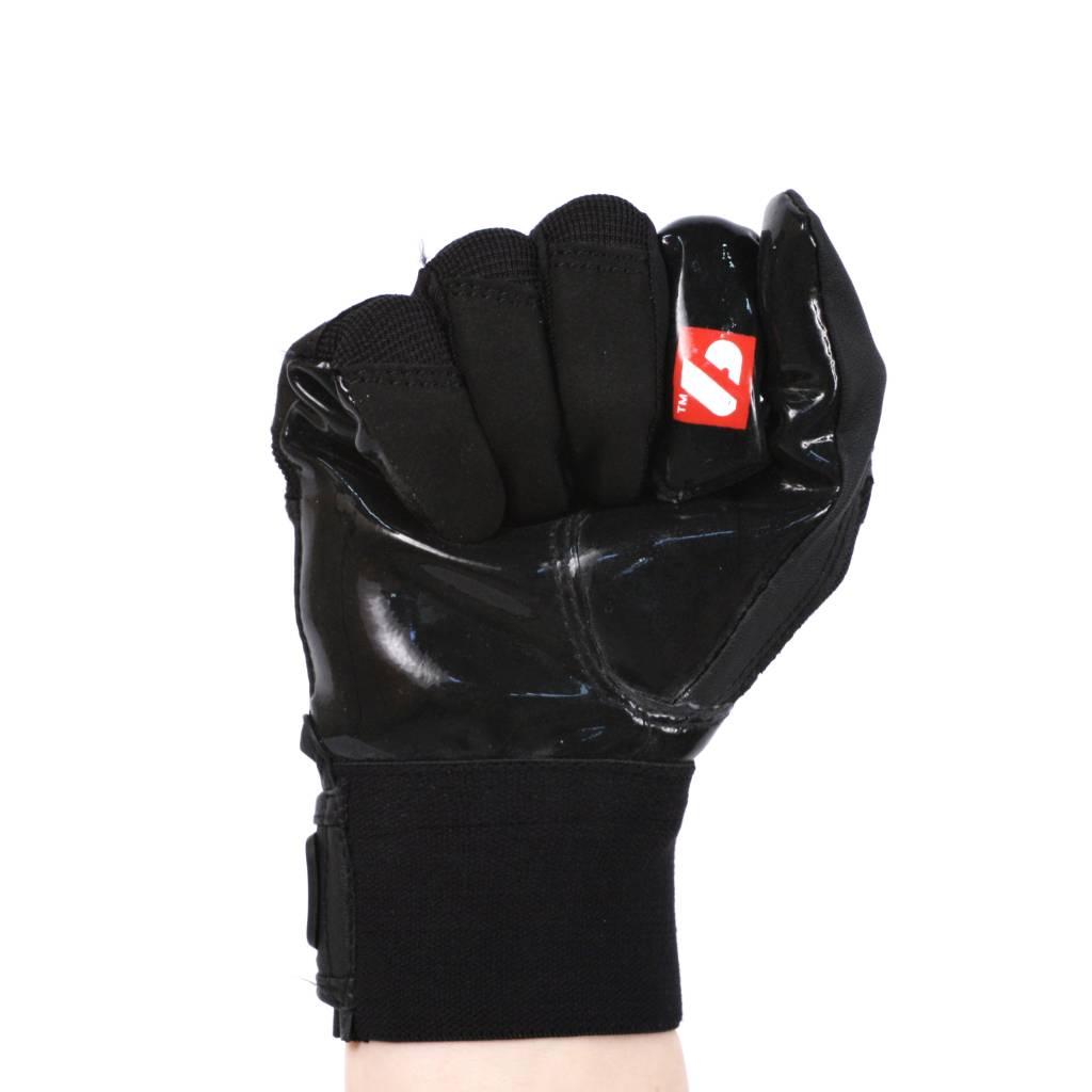 barnett FRG-01 Перчатки для ресивера, американский футбол, RE,DB,RB, чёрные