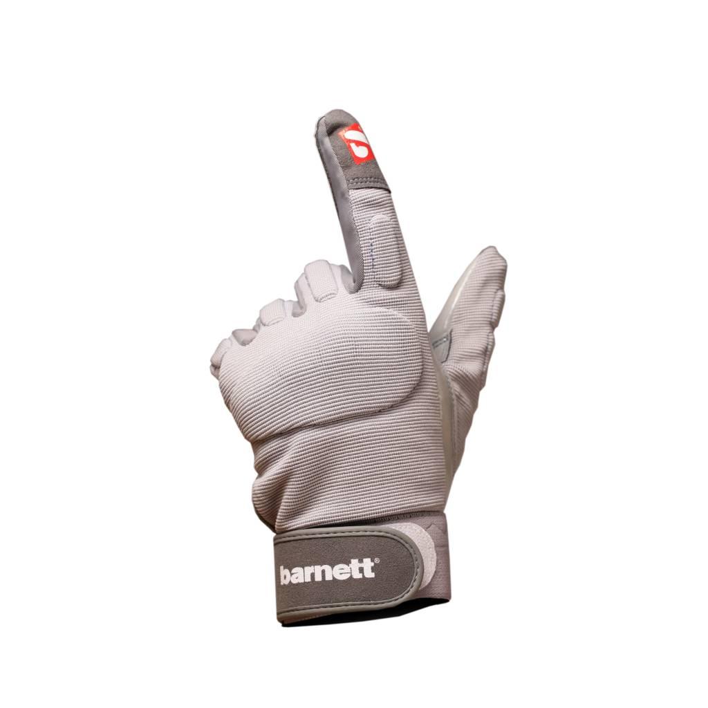 barnett FLG-01 Перчатки для лайнмена, американский футбол, OL,DL, серые