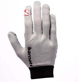 barnett FLGL-02 Перчатки для раннинбека, американский футбол, RE,DB,RB, серые