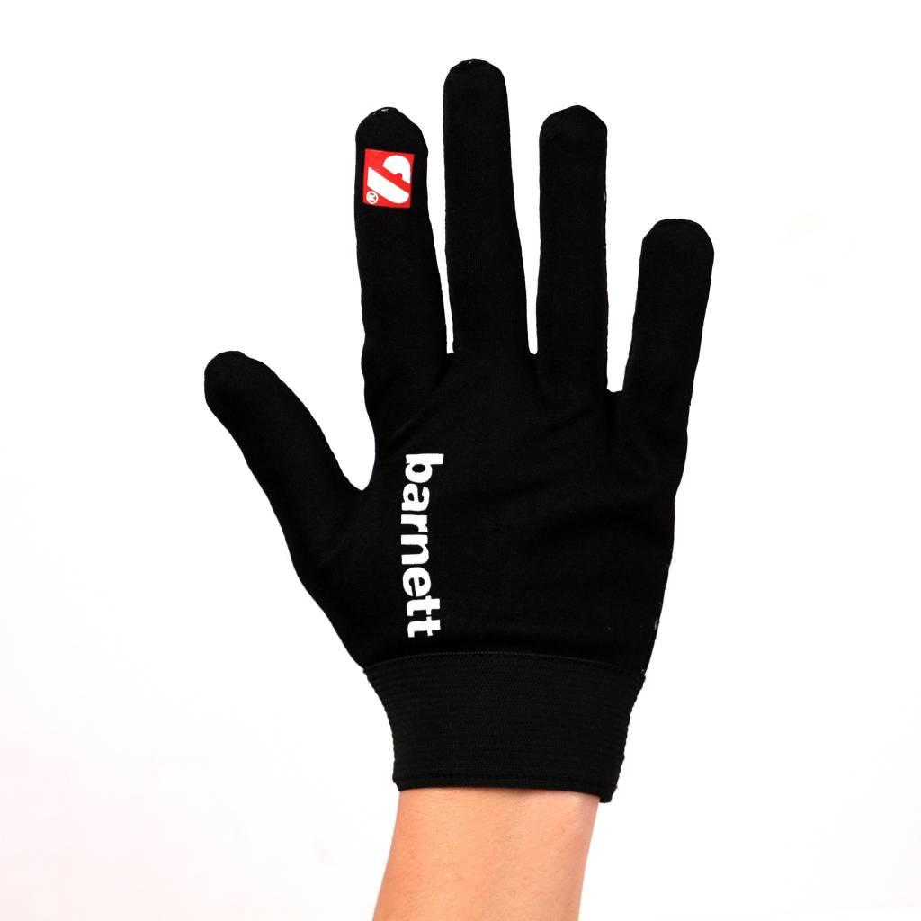 barnett FLGL-02 Перчатки для раннинбека, американский футбол, RE,DB,RB, чёрные
