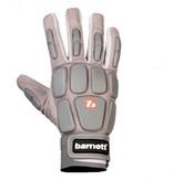 barnett FKG-03 Профессиональные перчатки для лайнбекера, американский футбол, LB,RB,TE, серые