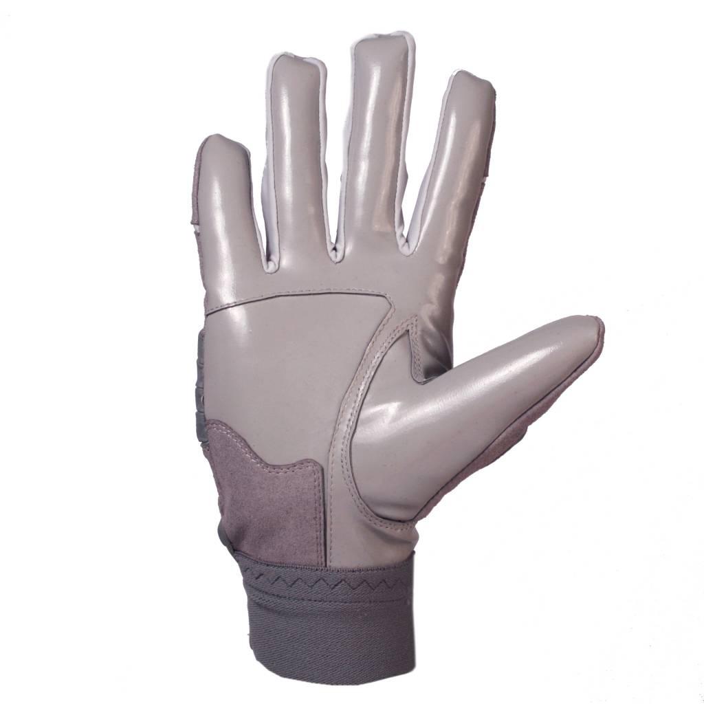 barnett FLG-03 Профессиональные перчатки для лайнмена, американский футбол, OL,DL, серые