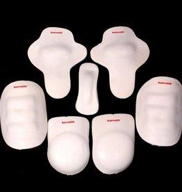barnett FKA-02 Комплект протекторов для раннинбека из семи частей, для взрослых (FTP-02 + FKP-02 +  FHP-02)