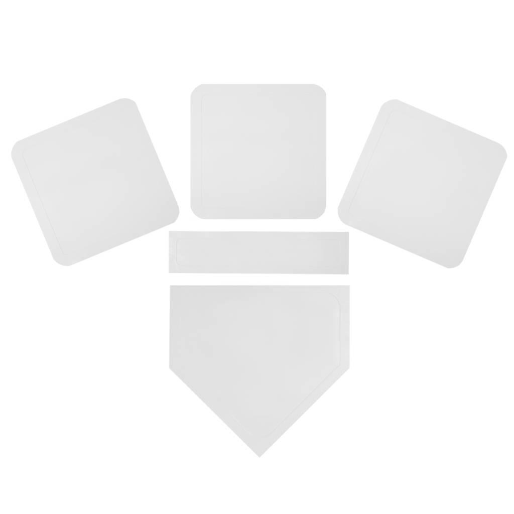 barnett BBT-01 Комплект резиновых аксессуаров для игры в бейсбол, единый размер, цвет белый