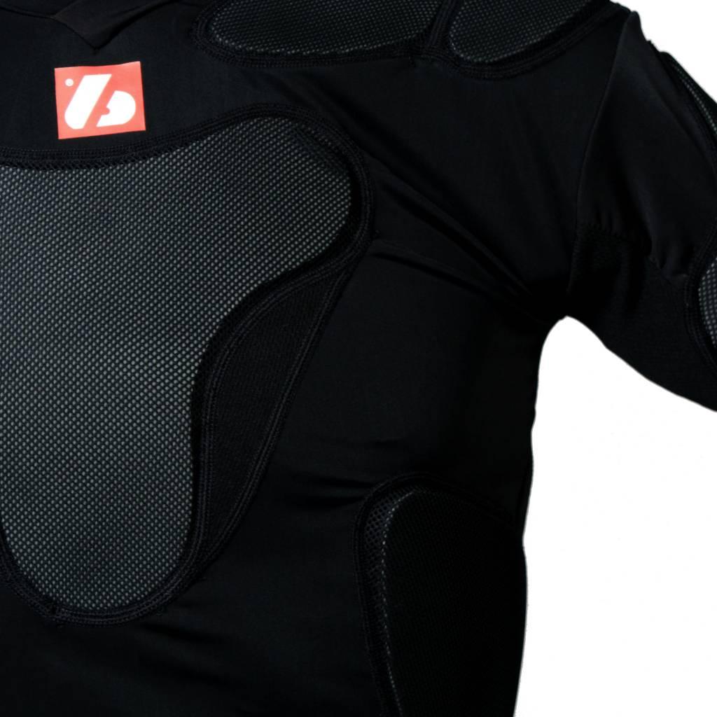 barnett RSP-PRO 8 Профессиональный каркас для регби с восьмью защитными пластинами, цвет черный