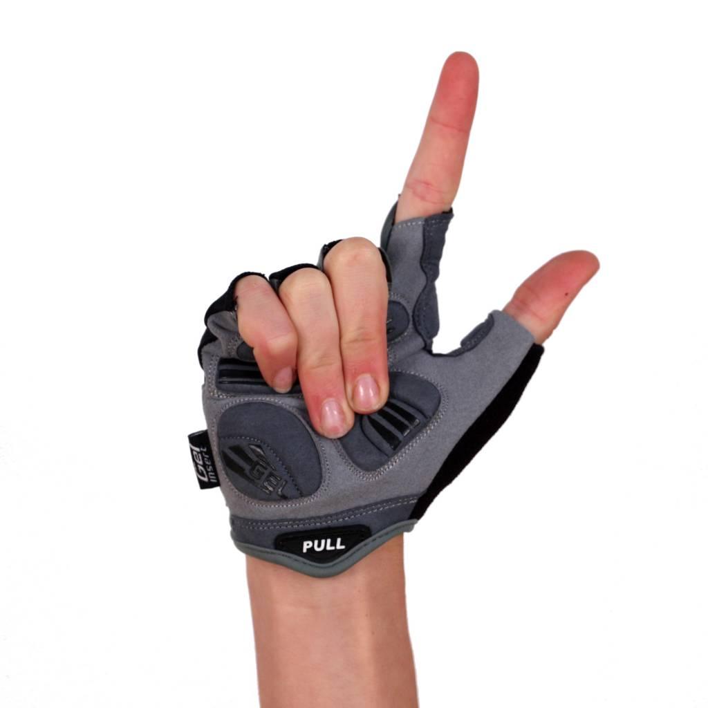barnett BG-06 Лёгкие велосипедные перчатки с короткими пальцами, цвет чёрный