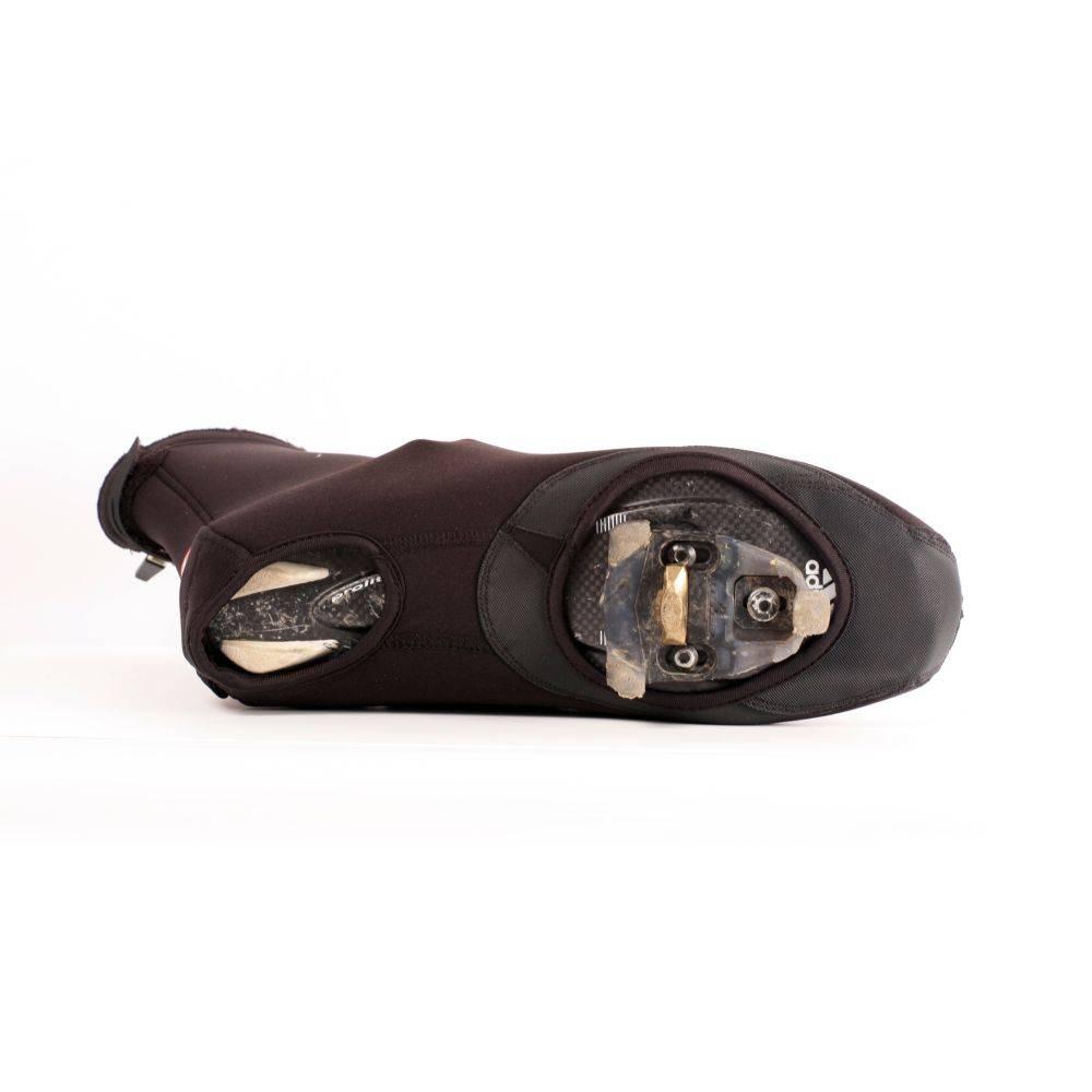 barnett BSP-03 Тёплые велосипедные чехлы на ботинки из неопрена, цвет чёрный
