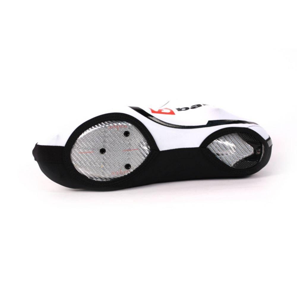 barnett BSP-06 Велосипедные чехлы на ботинки из лёгкой лайкры для лета, цвет белый