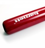 barnett BB-8 Деревянная бейсбольная бита, размер 32'' (81,28 см), для взрослых, красная