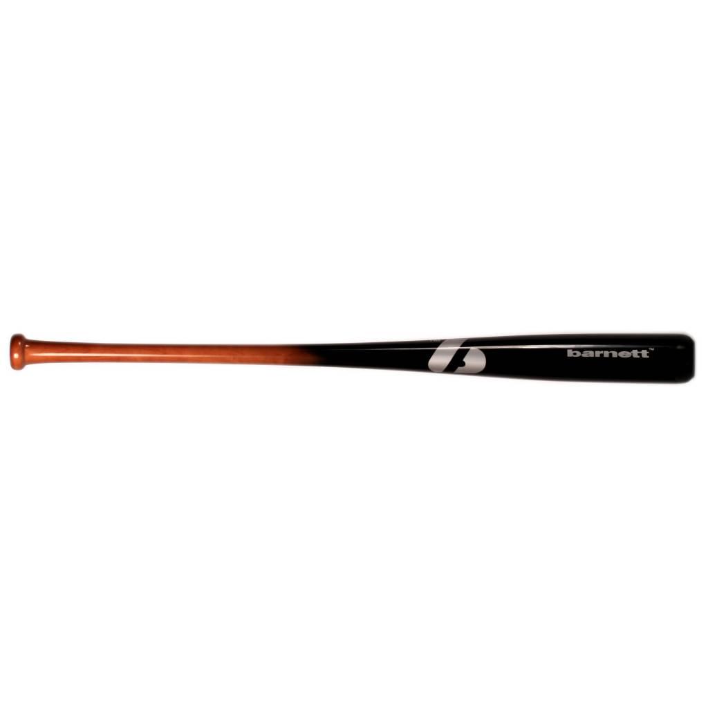 barnett BB-7 Деревянная бейсбольная бита, размер 32'' (81,28 см), для взрослых