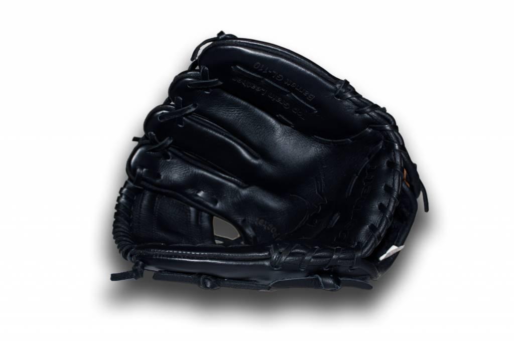 """barnett GL-110  Бейсбольная перчатка для инфилда 11"""", чёрная"""