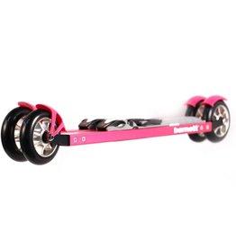 barnett RSE-ENTRY 610 Лыжероллеры для начинающих, коньковый ход, розовые