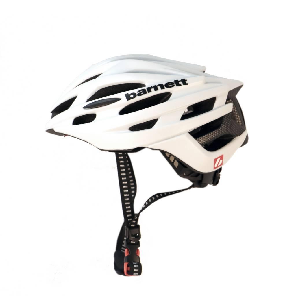 barnett B3-27A Шлем для велосипеда и лыжероллеров, белый