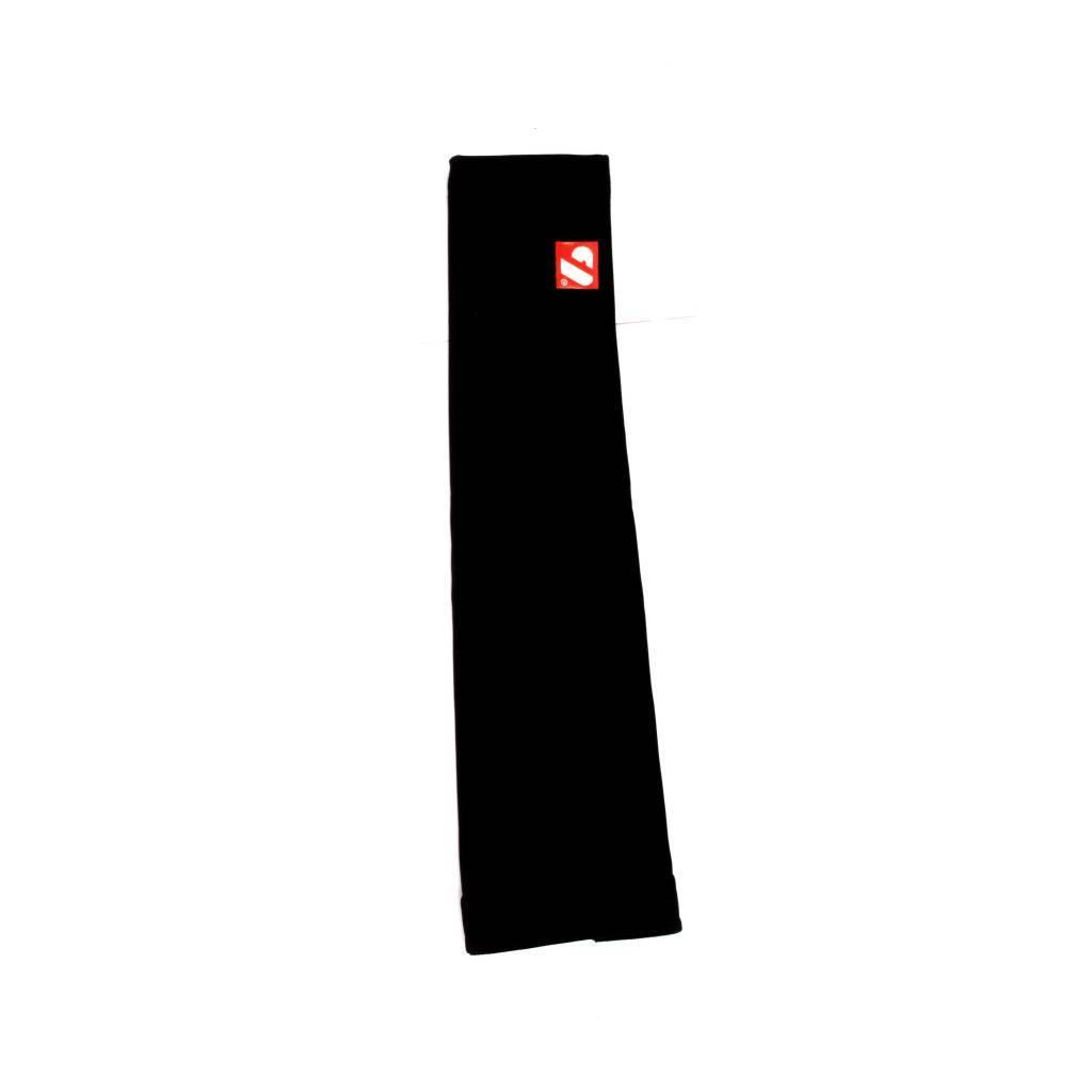barnett BO-02 Спортивные тёплые рукава для велоспорта, чёрные/белые