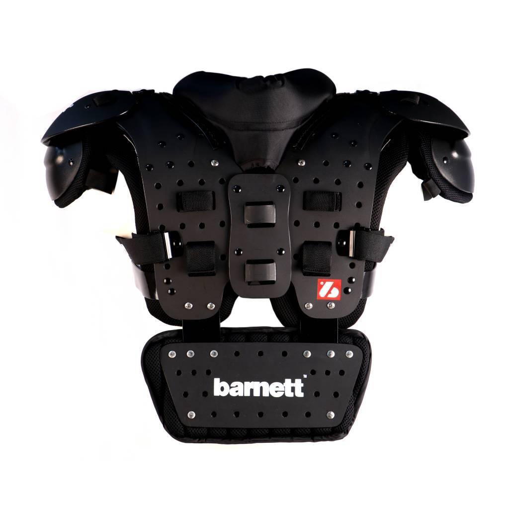 barnett B-01 Защита для спины, американский футбол, единый размер, чёрный цвет