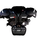 barnett F-01 Защита для грудной клетки, американский футбол, единый размер, чёрный цвет