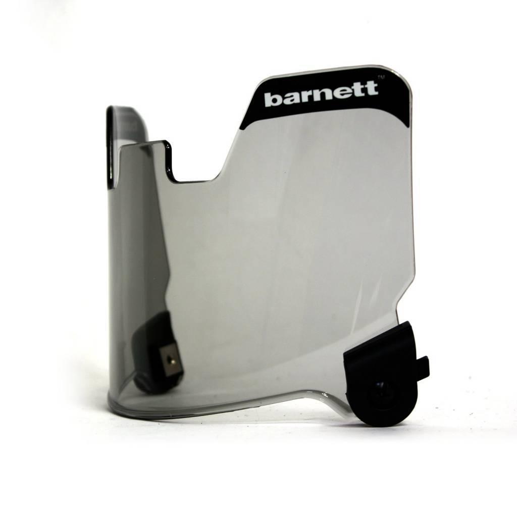 barnett Визор для футбольного шлема, серый