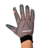 barnett FRG-03 Профессиональные перчатки для ресивера, американский футбол, RE,DB,RB, чёрные