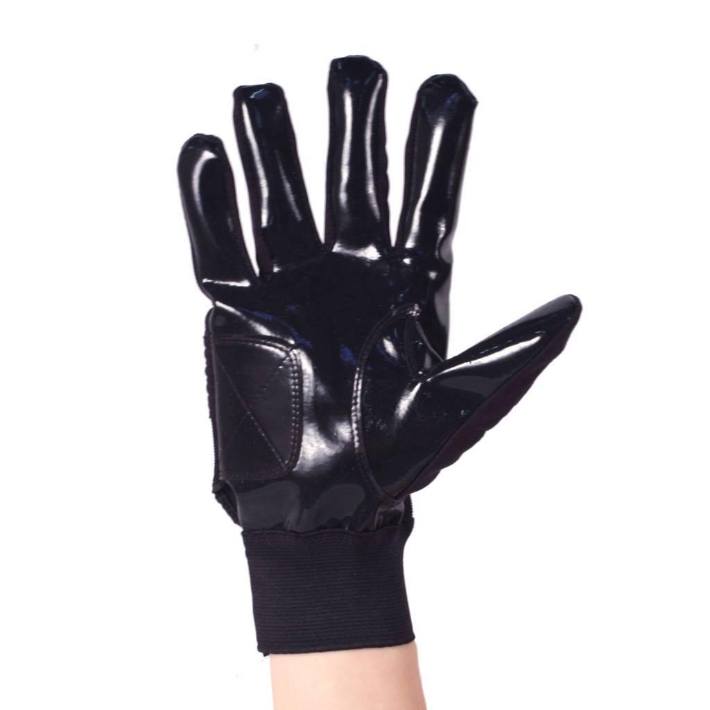 barnett FLG-01 Перчатки для лайнмена, американский футбол, OL,DL, чёрные
