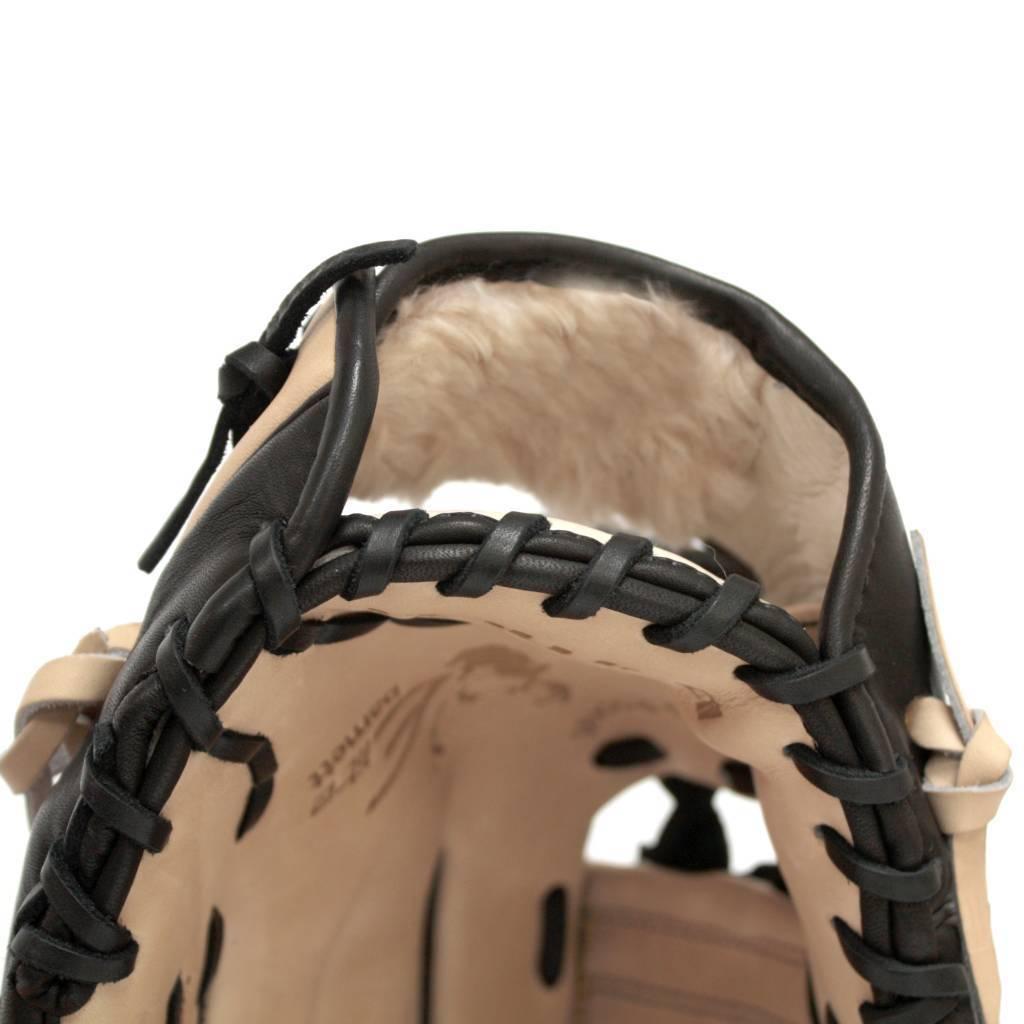 barnett FL-110 Профессиональная бейсбольная перчатка из кожи, инфилд, размер 11