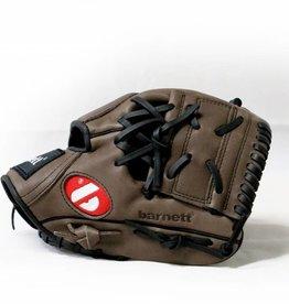 "barnett GL-110  Бейсбольная перчатка, инфилд, размер 11"", коричневая"