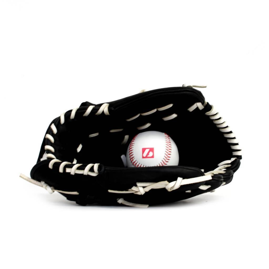 barnett GL-120 Бейсбольная перчатка, инфилд натуральная кожа 12', чёрная
