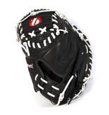barnett GL-201 Бейсбольная перчатка, кэтчер, натуральная кожа, для взрослых, размер 31', черная
