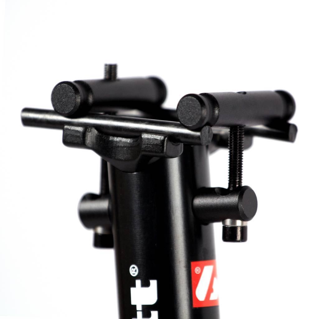 barnett SРА-01 Велосипедный седлодержатель, размер 27, 338,5 гр, чёрный/белый