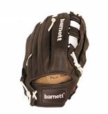 barnett GL-127 Бейсбольная перчатка, аутфилд, натуральная кожа, 12.7', чёрная