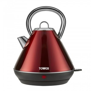 Tower Tower Waterkoker Red 1,7L