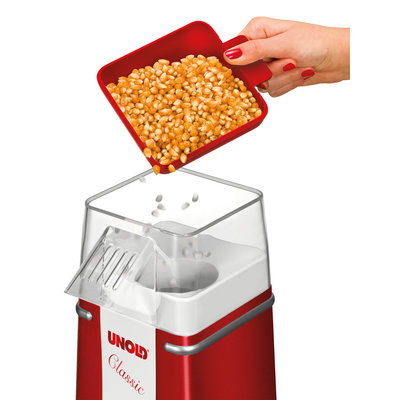 Unold Unold popcornmaker rood