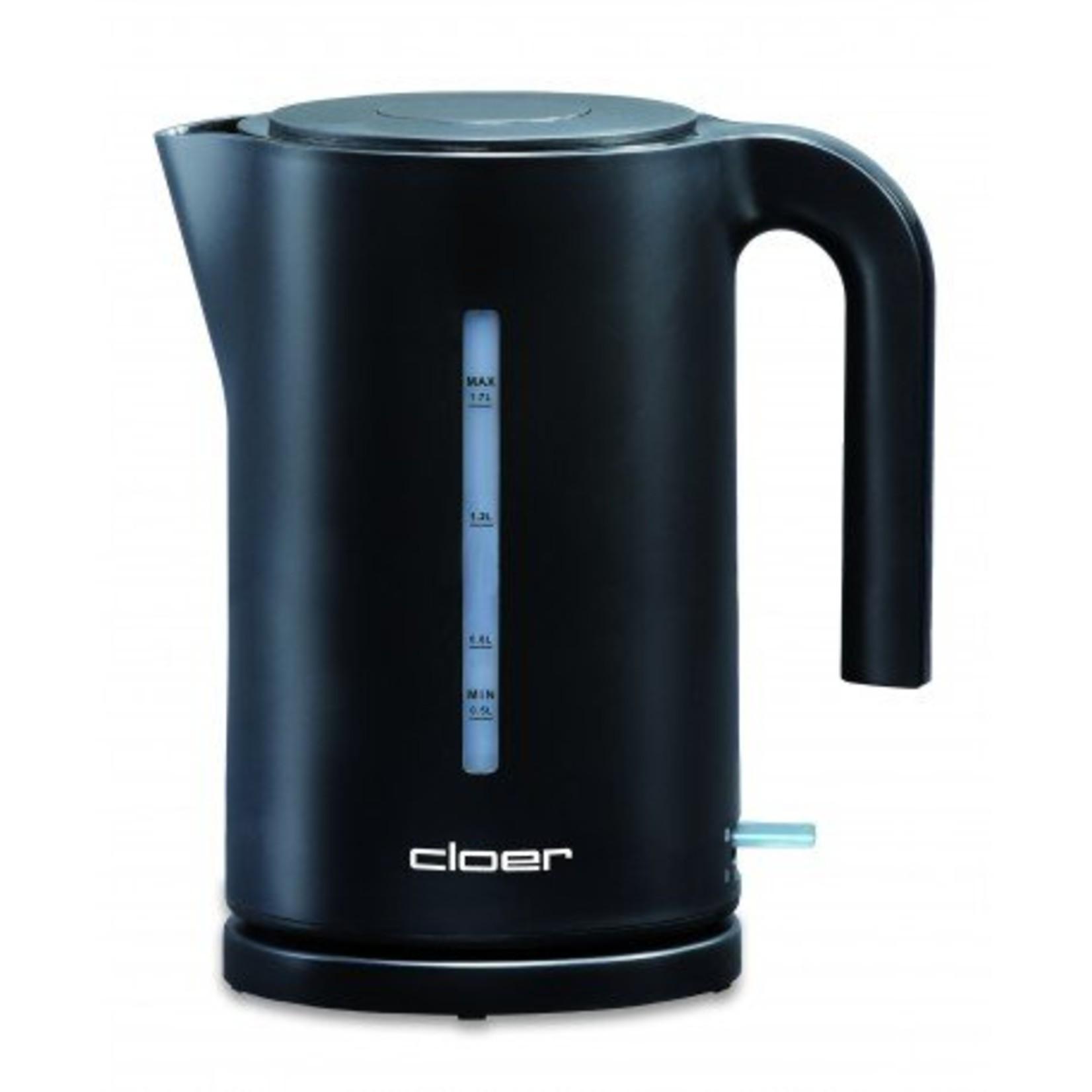 Cloer Cloer waterkoker zwart