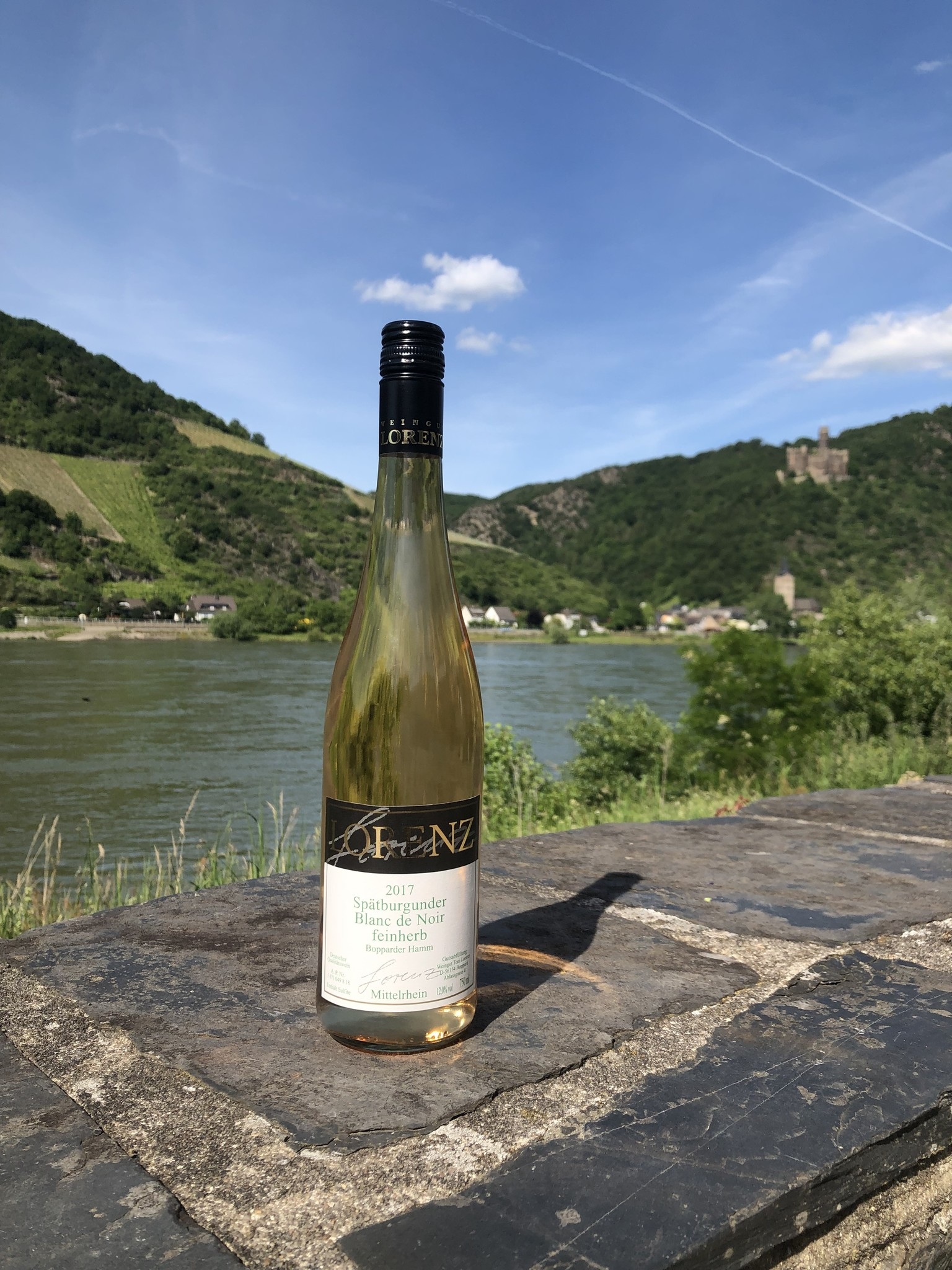 Weingut Toni Lorenz 2017 Spätburgunder Blanc de Noir feinherb