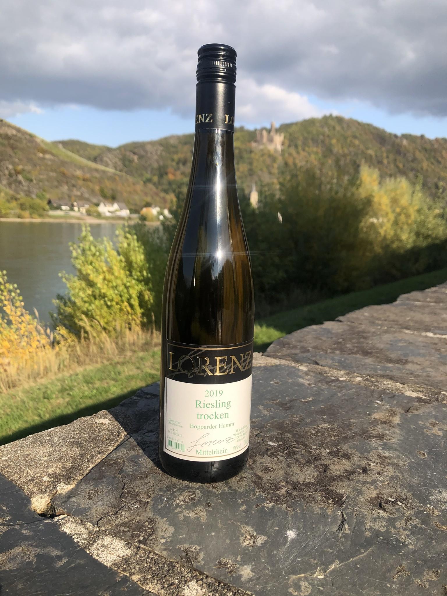 Weingut Toni Lorenz 2019 Lorenz Riesling Bopparder Hamm trocken Gutsabfüllung