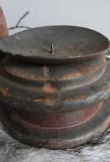 Kandelaar oud katrol
