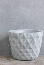 Cementen pot klein