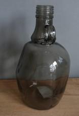 Glazen karaf zwart