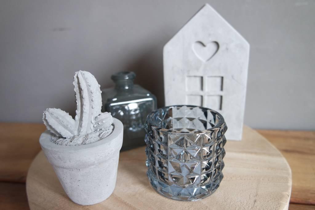 Goround Theelicht Sandal Charcoal