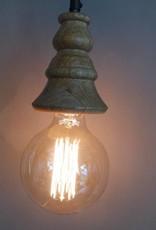 Houten hanglampje