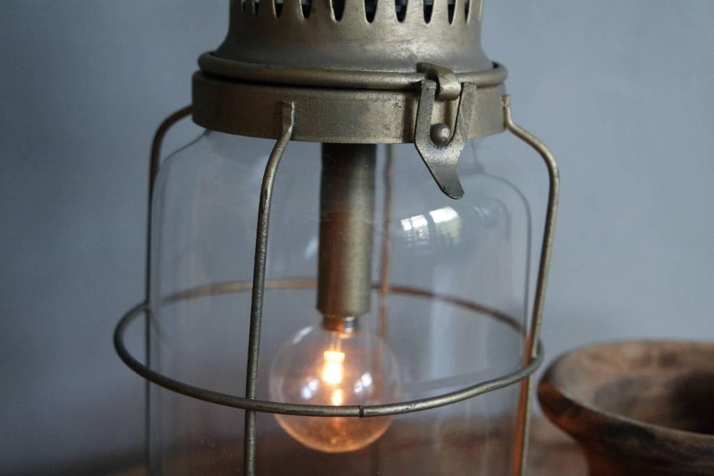 Metalen led lantaarn