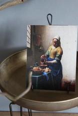 Postkaart Melkmeisje