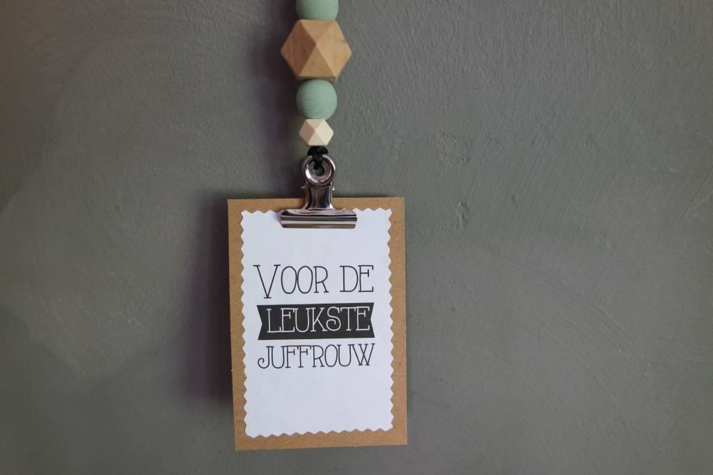 JGhomedeco Cliphanger Juffrouw