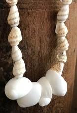 Schelpenketting witte schelp
