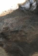 Konijnenvacht donkerbruin