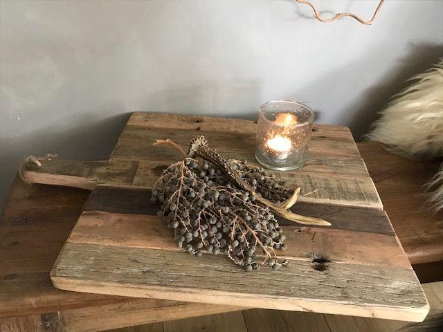 Decoratieve houten snijplank M