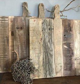 Decoratieve houten snijplank L